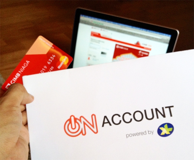 On Account CIMB Powered by XL